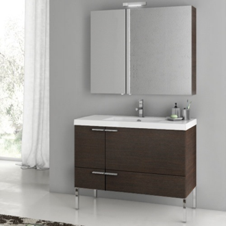 Bathroom Vanity 39 Inch Bathroom Vanity Set ACF ANS15-Wenge