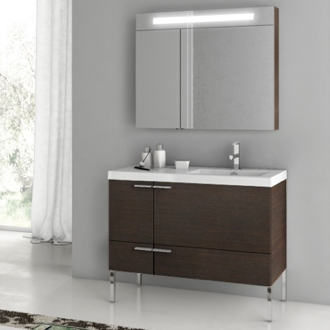 Bathroom Vanity 39 Inch Bathroom Vanity Set ACF ANS23-Wenge