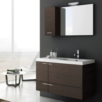 Bathroom Vanity 39 Inch Bathroom Vanity Set ACF ANS24-Wenge