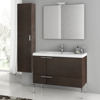 Bathroom Vanity 39 Inch Bathroom Vanity Set ACF ANS28-Wenge