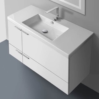 Bathroom Vanity 39 Inch Vanity Cabinet With Fitted Sink ACF ANS34