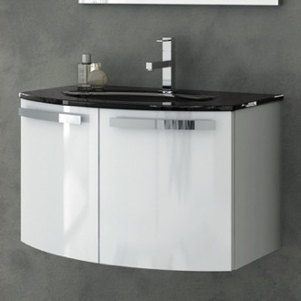 Bathroom Vanity 28 Inch Vanity Cabinet With Fitted Sink ACF CD05