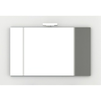 Vanity Mirror Wall Mounted 47 Inch Vanity Mirror with Chromed Edges ACF S075