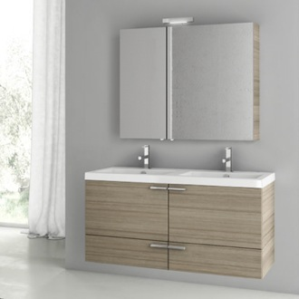 Bathroom Vanity 47 Inch Larch Canapa Bathroom Vanity Set ACF ANS194