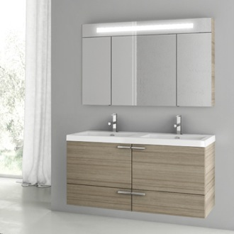 Bathroom Vanity 47 Inch Larch Canapa Bathroom Vanity Set ACF ANS193