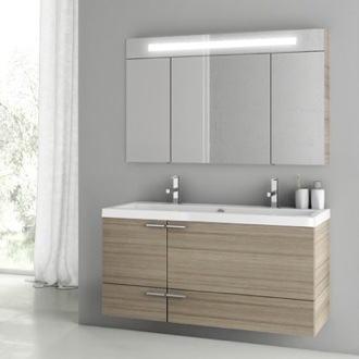 Bathroom Vanity 47 Inch Larch Canapa Bathroom Vanity Set ACF ANS208