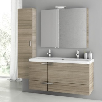 Bathroom Vanity 47 Inch Larch Canapa Bathroom Vanity Set ACF ANS211