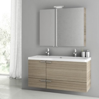 Bathroom Vanity 47 Inch Larch Canapa Bathroom Vanity Set ACF ANS209