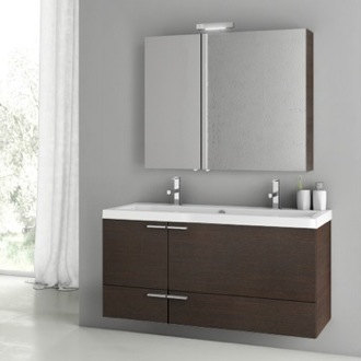Bathroom Vanity 47 Inch Wenge Bathroom Vanity Set ACF ANS213