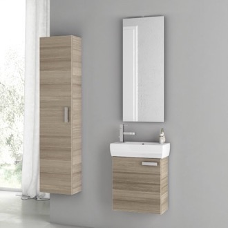 Bathroom Vanity 18 Inch Larch Canapa Bathroom Vanity Set ACF C27