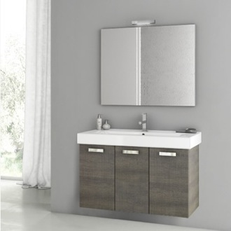 Bathroom Vanity 39 Inch Grey Oak Bathroom Vanity Set ACF C43