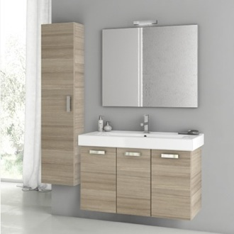 Bathroom Vanity 39 Inch Larch Canapa Bathroom Vanity Set ACF C48
