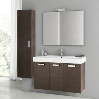 Bathroom Vanity 39 Inch Wenge Bathroom Vanity Set ACF C50