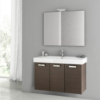Bathroom Vanity 39 Inch Wenge Bathroom Vanity Set ACF C46
