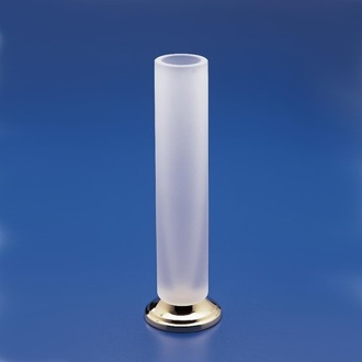 Vase Tall Frosted Glass Bathroom Vase Windisch 61130MD