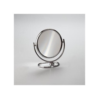 Makeup Mirror Brass Double Face 3x or 5x Magnifying Mirror Windisch 99122