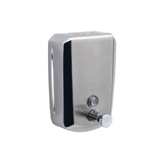 Soap Dispenser Wall Mounted Stainless Steel 800 ml Commercial Soap Dispenser Gedy 2081