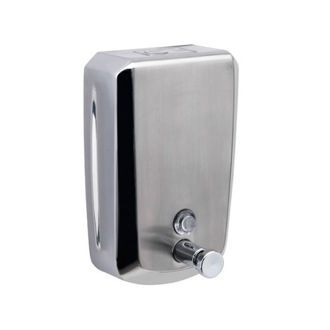 Soap Dispenser Wall Mounted Stainless Steel 1200 ml Soap Dispenser Gedy 2082