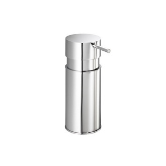 Soap Dispenser Round Chrome Countertop Soap Dispenser Gedy 2085