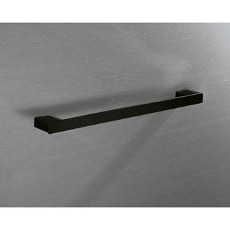 Towel Bar Square 18 Inch Towel Bar In Matte Black Gedy 5421-45-M4