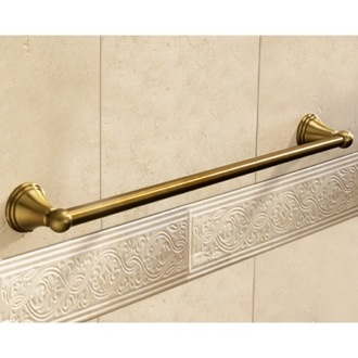 Towel Bar Classic-Style Bronze 24 Inch Towel Bar Gedy 7521-60-44