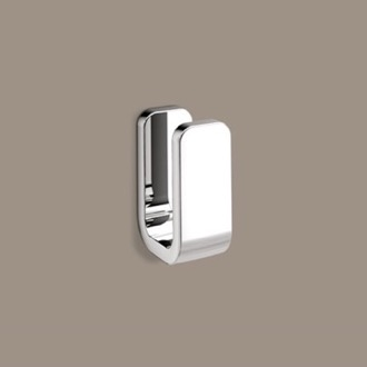 Bathroom Hook Polished Chrome Single Robe Hook Gedy 3226-13
