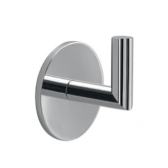 Bathroom Hook Adhesive Chrome Wall Mounted Hook Gedy 3626-13