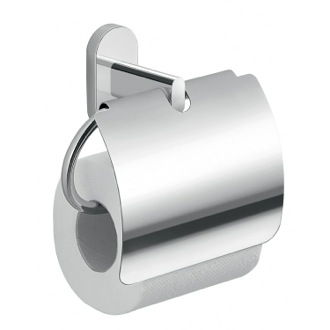 Toilet Paper Holder Chrome Toilet Paper Holder With Cover Gedy 5325-13