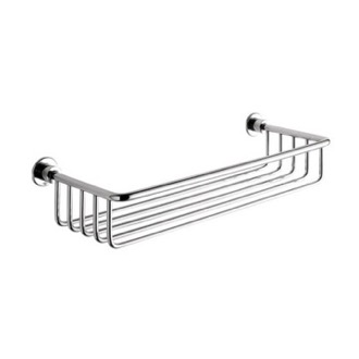 Shower Basket Chrome Wire Shower Basket Gedy 5618-13