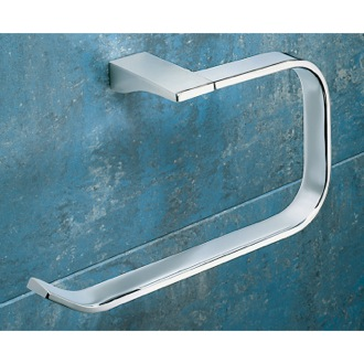 Towel Ring Square Polished Chrome Towel Ring Gedy 5770-13