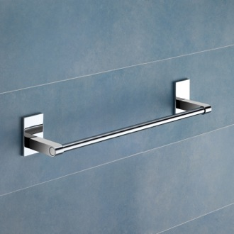 Towel Bar 14 Inch Polished Chrome Towel Bar Gedy 7821-35-13