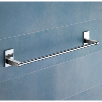 Towel Bar 24 Inch Polished Chrome Towel Bar Gedy 7821-60-13