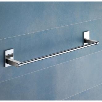 24 Inch Polished Chrome Towel Bar