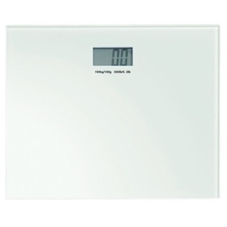 Scale Square White Electronic Bathroom Scale Gedy RA90-02