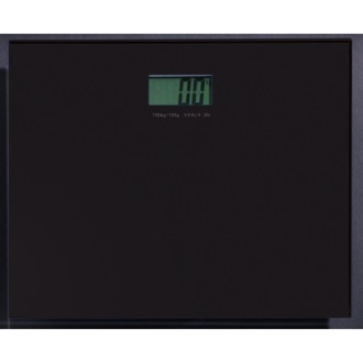 Scale Square Black Electronic Bathroom Scale Gedy RA90-14