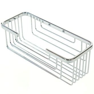 Shower Basket Wall Mounted Chrome Shower Basket Gedy 2419-13