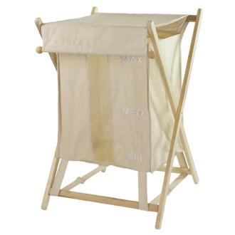 Laundry Basket Beige Laundry Basket Gedy BU38-03