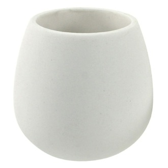 Toothbrush Holder Toothbrush Holder Made From Thermoplastic Resins and Stone In White Finish Gedy OP98-02