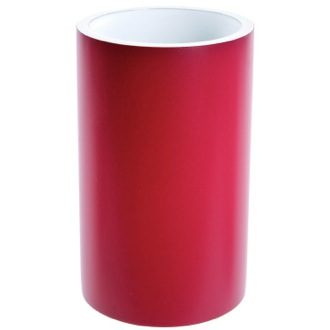 Toothbrush Holder Round Ruby Red Free Standing Toothbrush Holder Gedy YU98-53