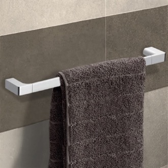 Towel Bar 24 Inch Polished Chrome Towel Bar Gedy PI21-60-13
