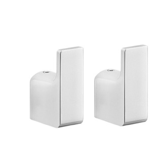 Bathroom Hook Modern Pair of Polished Chrome Hook Gedy PI27-13