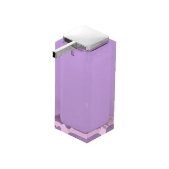 Soap Dispenser Tall Soap Dispenser Made of Thermoplastic Resin in Lilac Gedy RA80-79