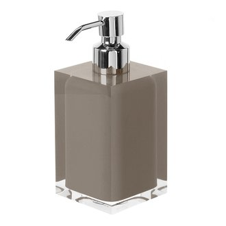Soap Dispenser Square Turtledove Countertop Soap Dispenser Gedy RA81-52