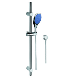 Handheld Showerhead Hand Shower, Sliding Rail, and Water Connection Gedy SUP1113