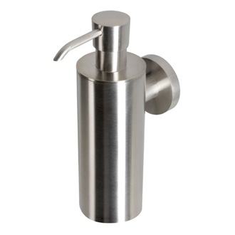Soap Dispenser Wall Mounted Satin Stainless Steel Soap Dispenser Geesa 6527-05
