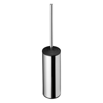 Toilet Brush Round Free Standing Chrome Toilet Brush Geesa 4510-02