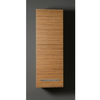 Storage Cabinet Short Storage Cabinet in Teak Finish Iotti AP04