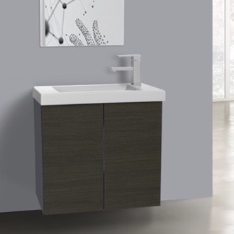 Bathroom Vanity 2 Doors Vanity Cabinet with Self Rimming Sink Iotti HD01C