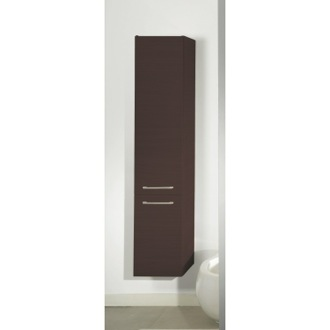 Storage Cabinet Tall Storage Cabinet in Wenge Finish Iotti AB02/N