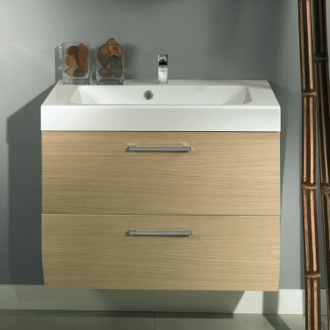 Bathroom Vanity 2 Drawers Vanity Cabinet with Self Rimming Sink Iotti NN3C
